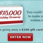 Holiday Giveaway ~ Enter Now