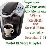 Win Yourself a Keurig for Christmas