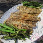 Grilled Lemon and Dill Swai with Asparagus