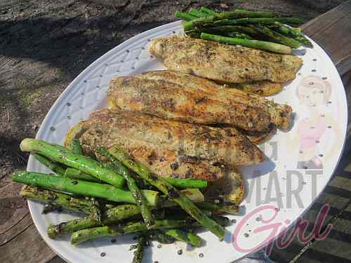 Grilled Lemon and Dill Swai