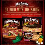 Three New Bold Pizza's from Red Baron