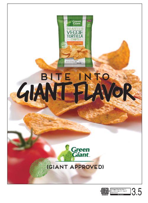 Green Giant Veggie Chips Key Visual 3