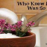Who Knew Epsom Salt Was So Useful