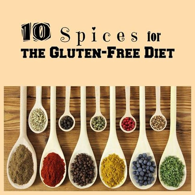 10 Spices for the Gluten- Free Diet