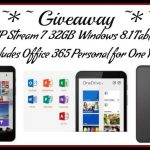 HP Stream 7 Signature Edition Tablet #Giveaway