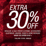 Last Minute Savings on Apparel from Sears #MoreMerry
