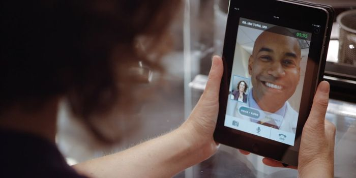 Doctor Video Visit Tablet